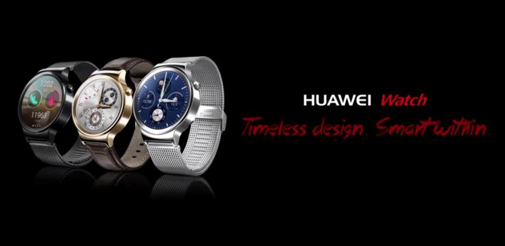 #MWC15 – Huawei Smartwatch ¿Quien decía que los smartwatch chinos no tenían clase?