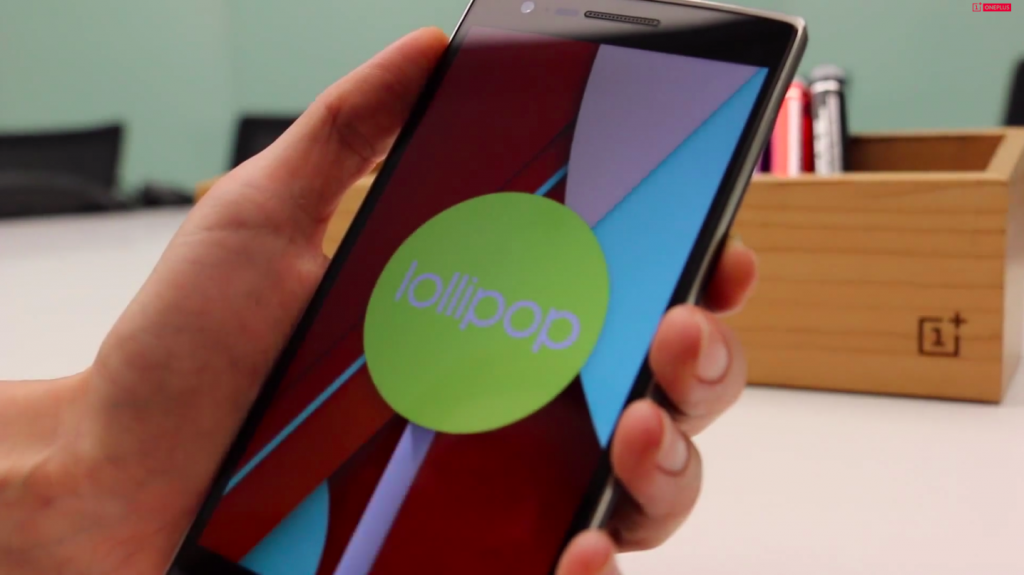 Android Lollipop para OnePlus One a final de Marzo
