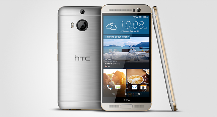 HTC One M9+ presentado oficialmente… para China