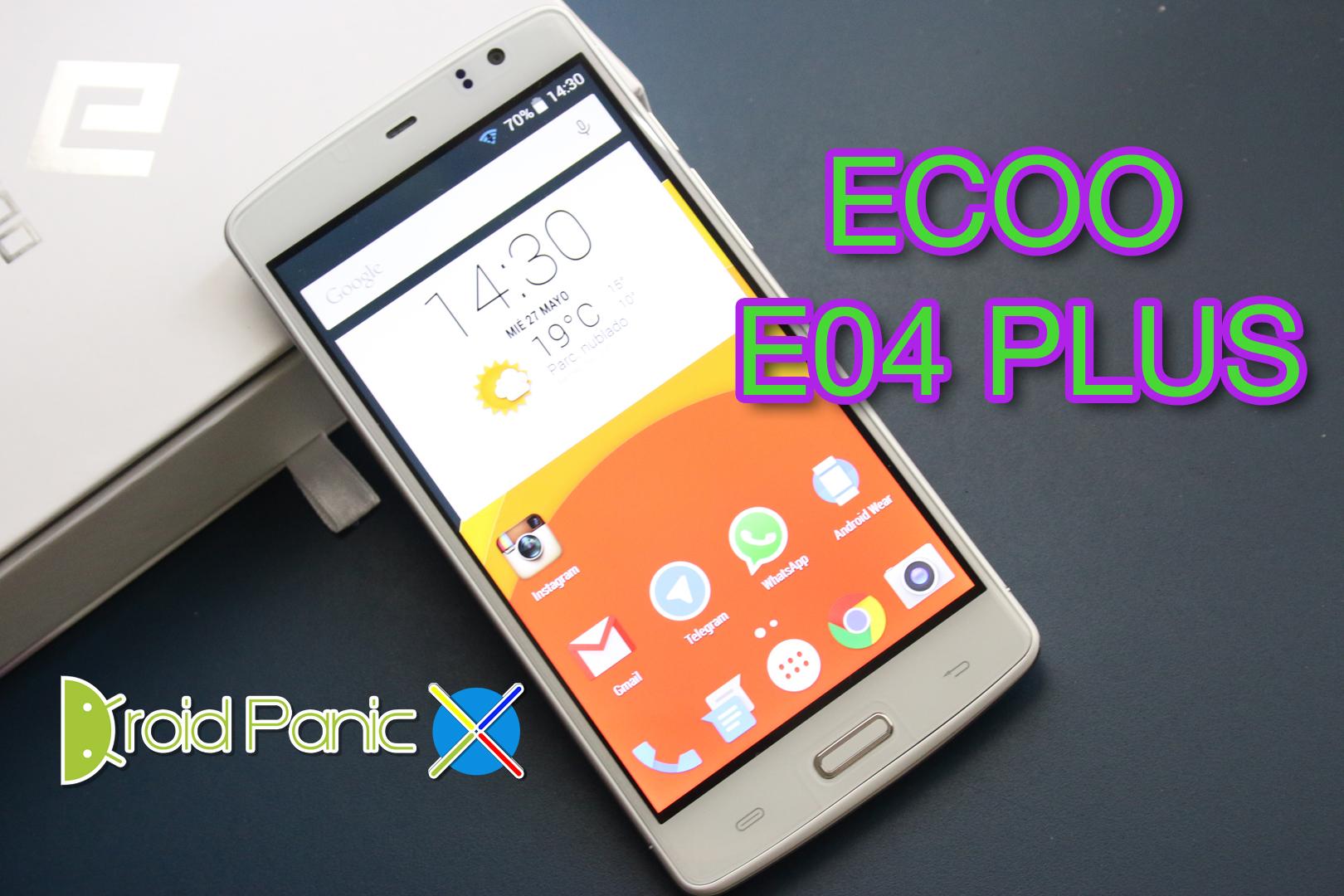 Ecoo E04 Plus de 3GB de RAM al descubierto en nuestras manos