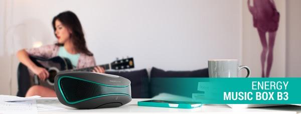 Energy Music Box B3 Bluetooth, olvídate de cables innecesarios