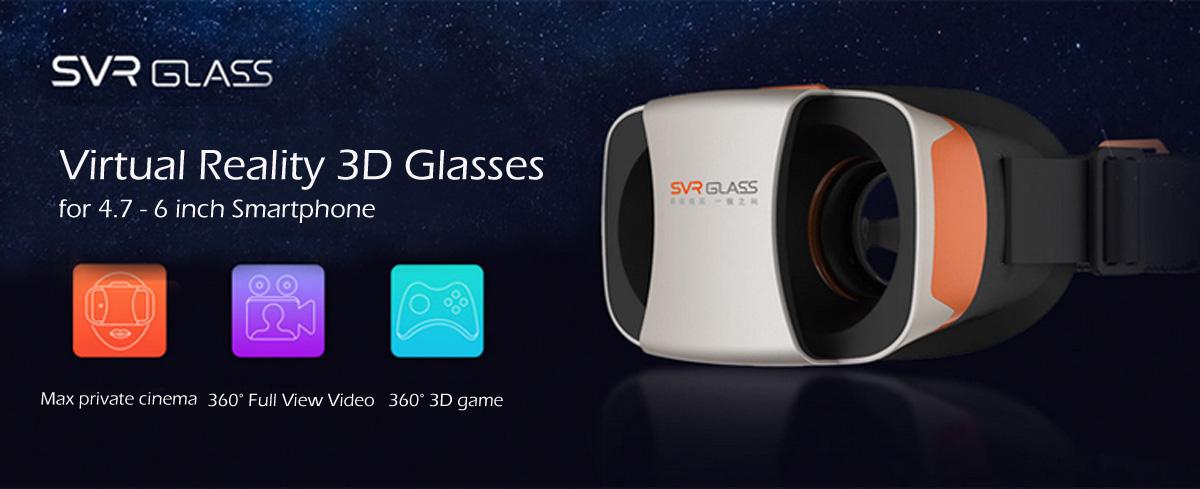 SnailVR SVR, la nueva generación de gafas de realidad virtual