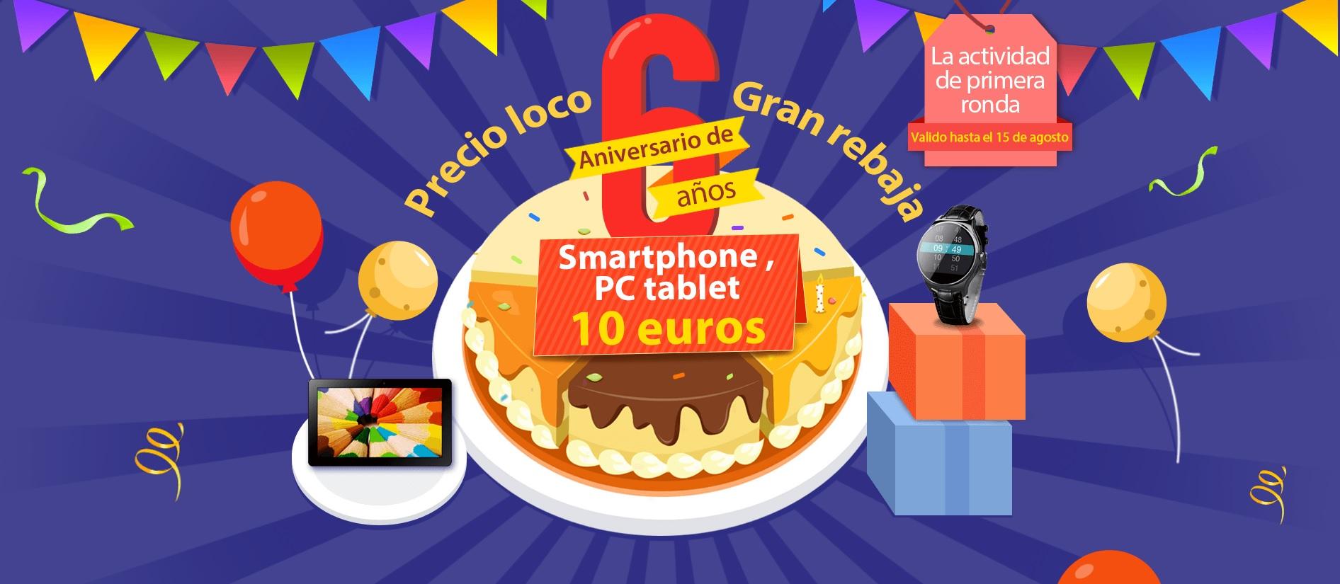 Increíbles ofertas en el sexto aniversario de IGOGO