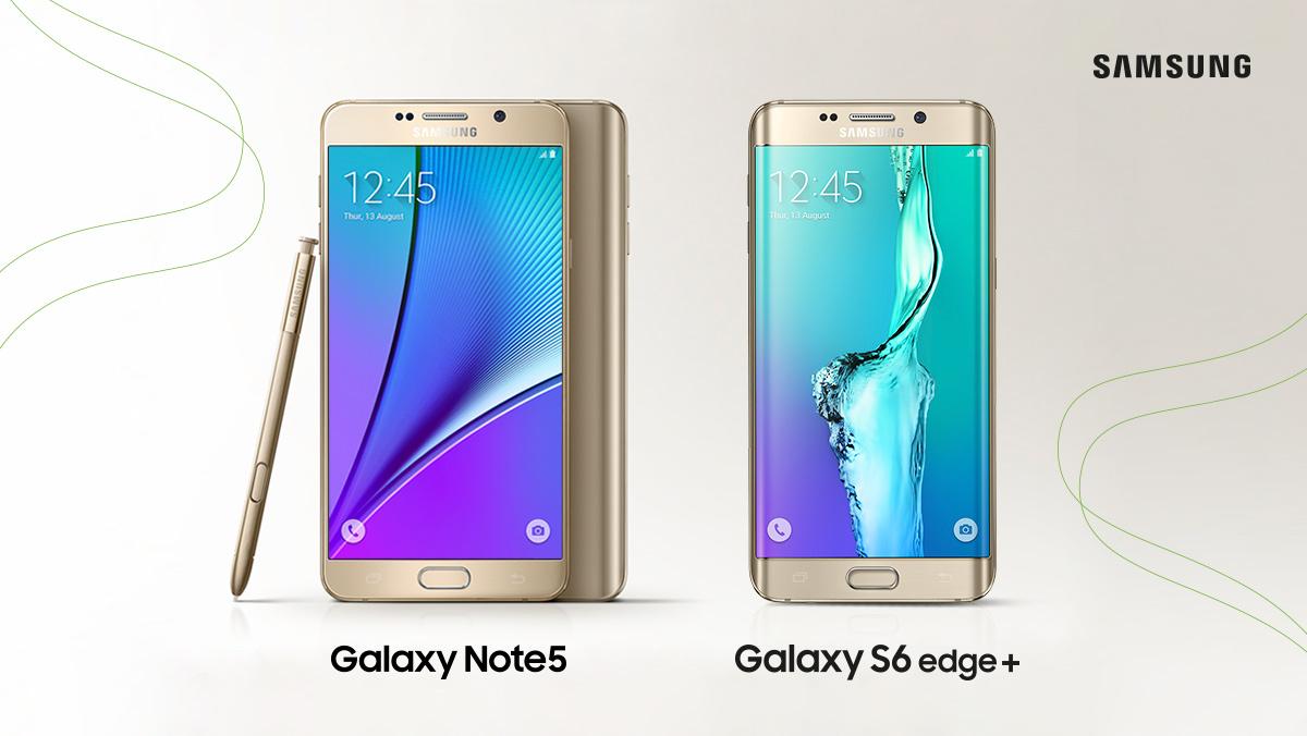 Llega lo mas esperado de Samsung: Galaxy Note 5 y S6 Edge+