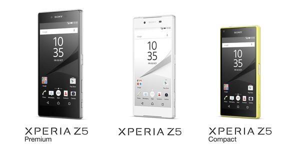 IFA 2015 – Sony presenta los Xperia Z5, Z5 Compact y Z5 Premium