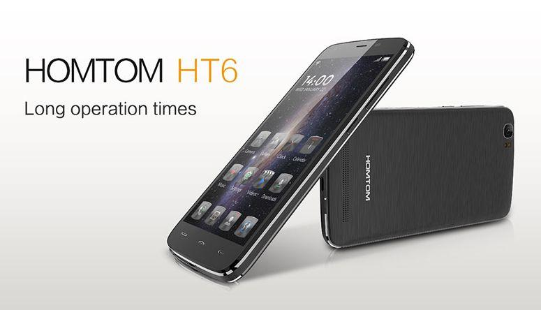 Las interminables baterías están de moda, Doogee Homtom HT6 con 6250mAh