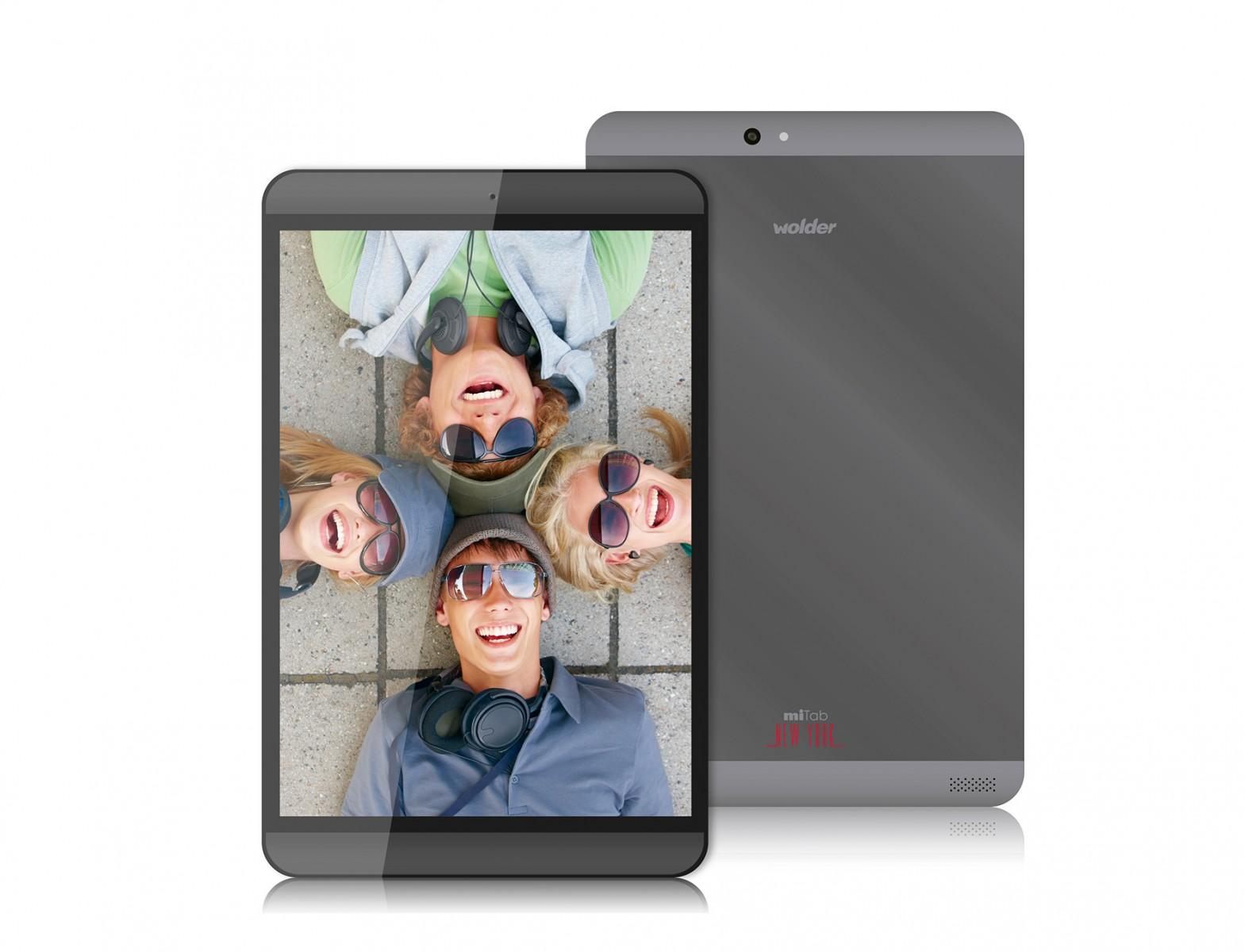 Wolder miTab New York, tablet Octa Core y pantalla Retina