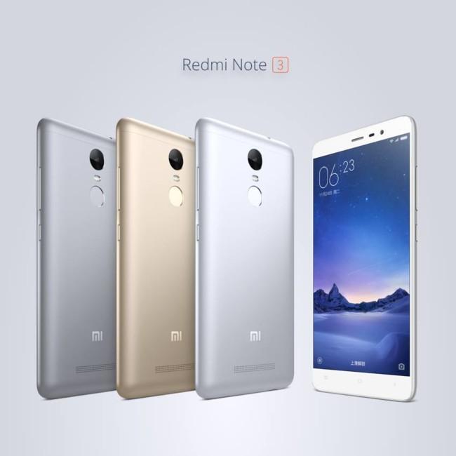 Presentados oficialmente los Xiaomi Redmi Note 3 y Mi Pad 2
