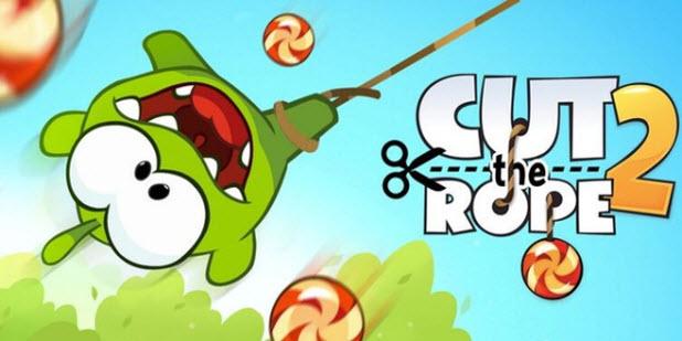 Entretente con Cut the Rope 2 como si fueses un niño
