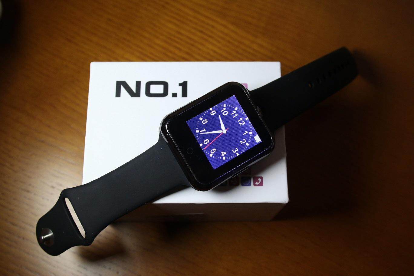 Análisis del smartwatch No.1 D3, completísimo por 20 euros