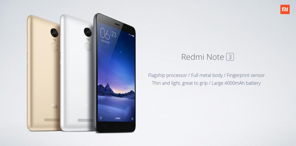 Xiaomi RedMi Note 3 al mejor precio y con códigos de descuento