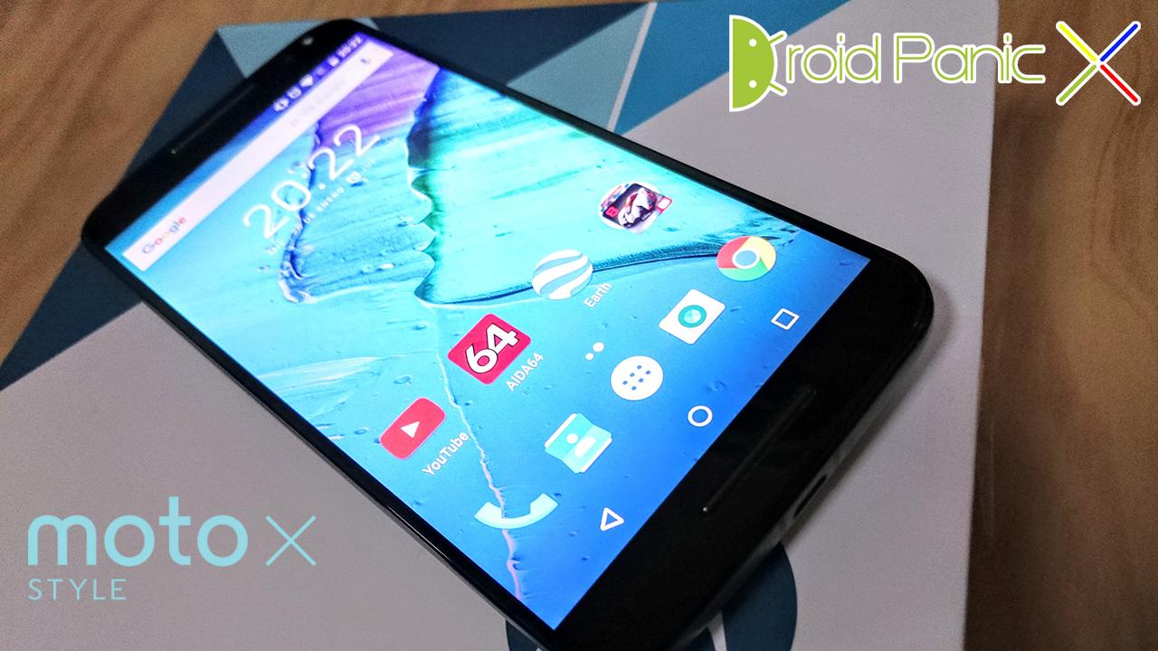 Analisis del Motorola Moto X Style con Android 6.0