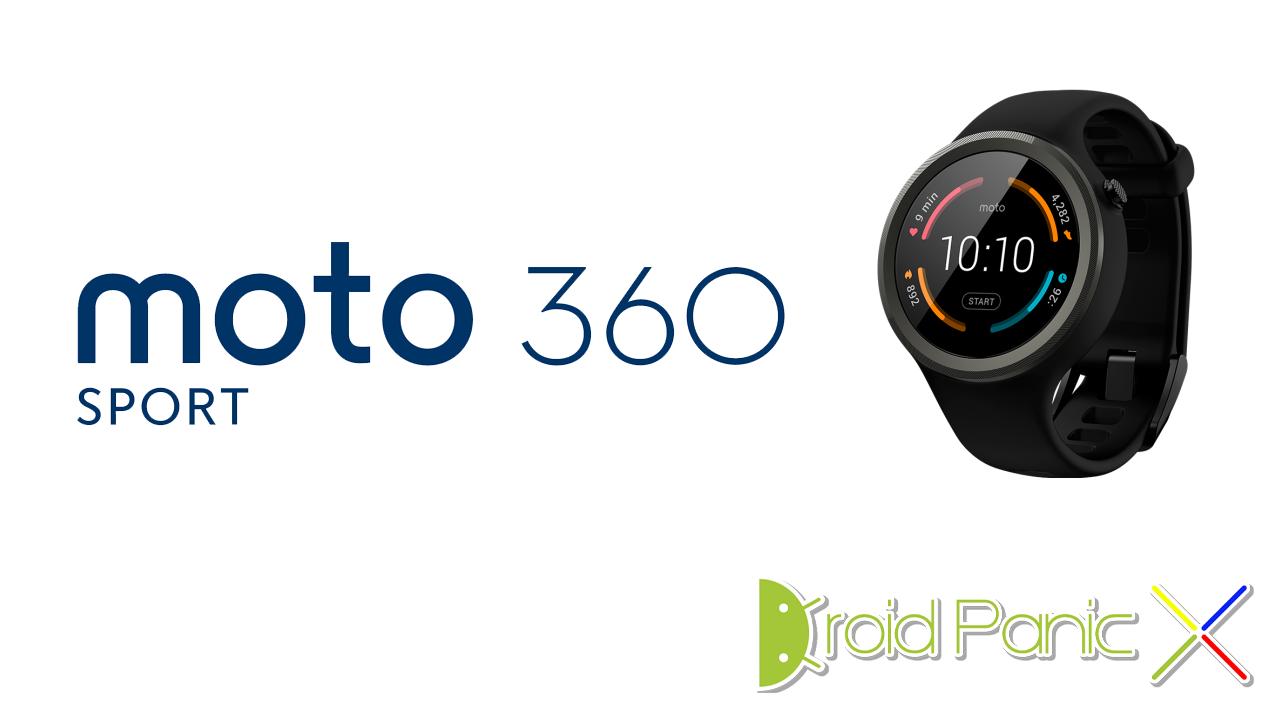 Analizamos el Motorola Moto 360 en su version Sport