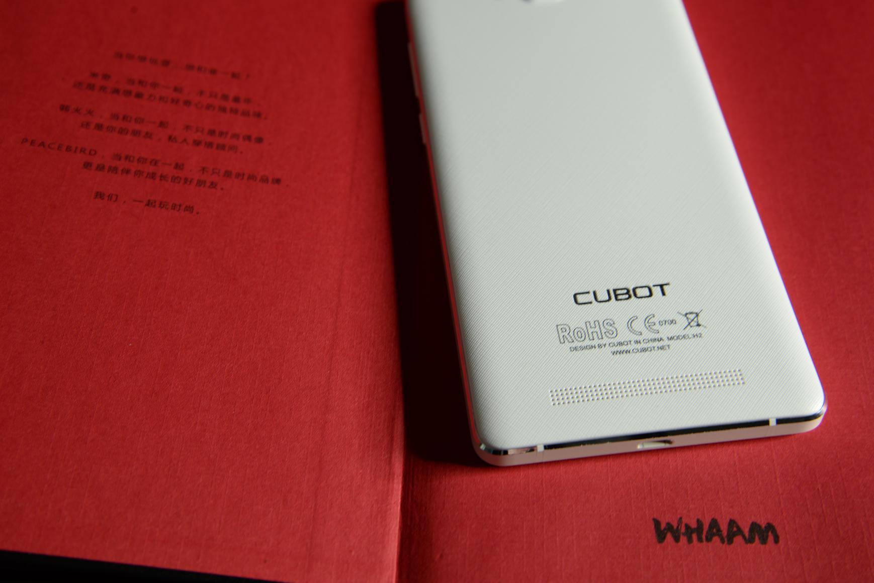 Cubot H2: muchísima batería, muchísima RAM y un sonido increíble