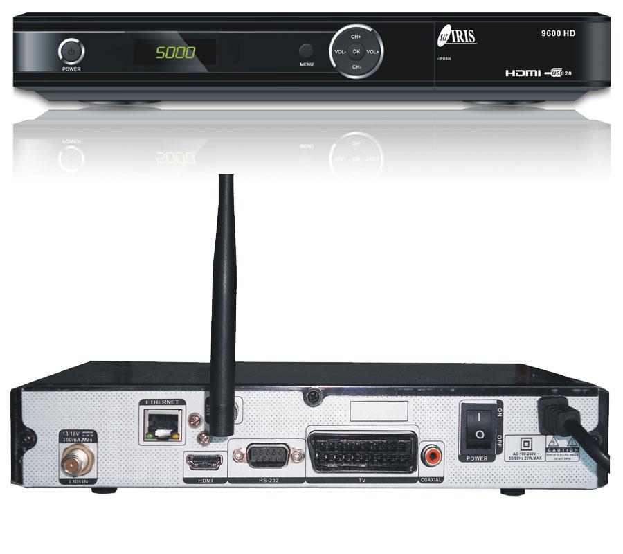 ¡Decodificadores para todos! Iris 9600 HD y disfruta del satélite