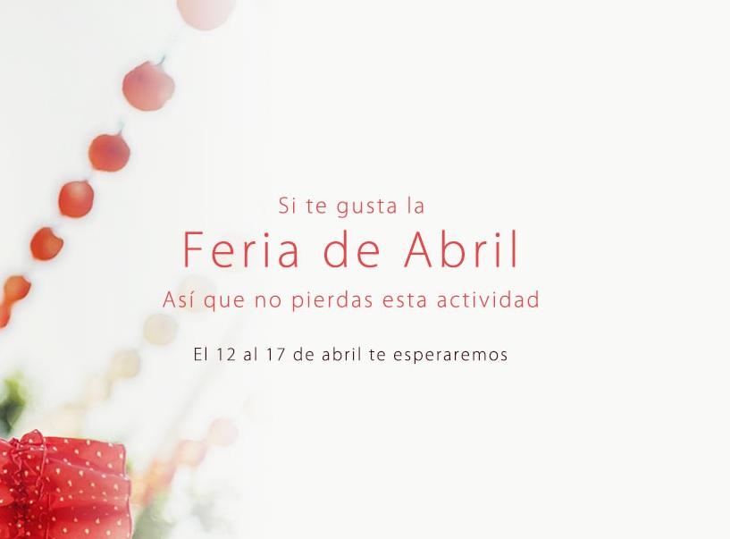 Feria de Abril en IGOGO con descuentazos a la vista