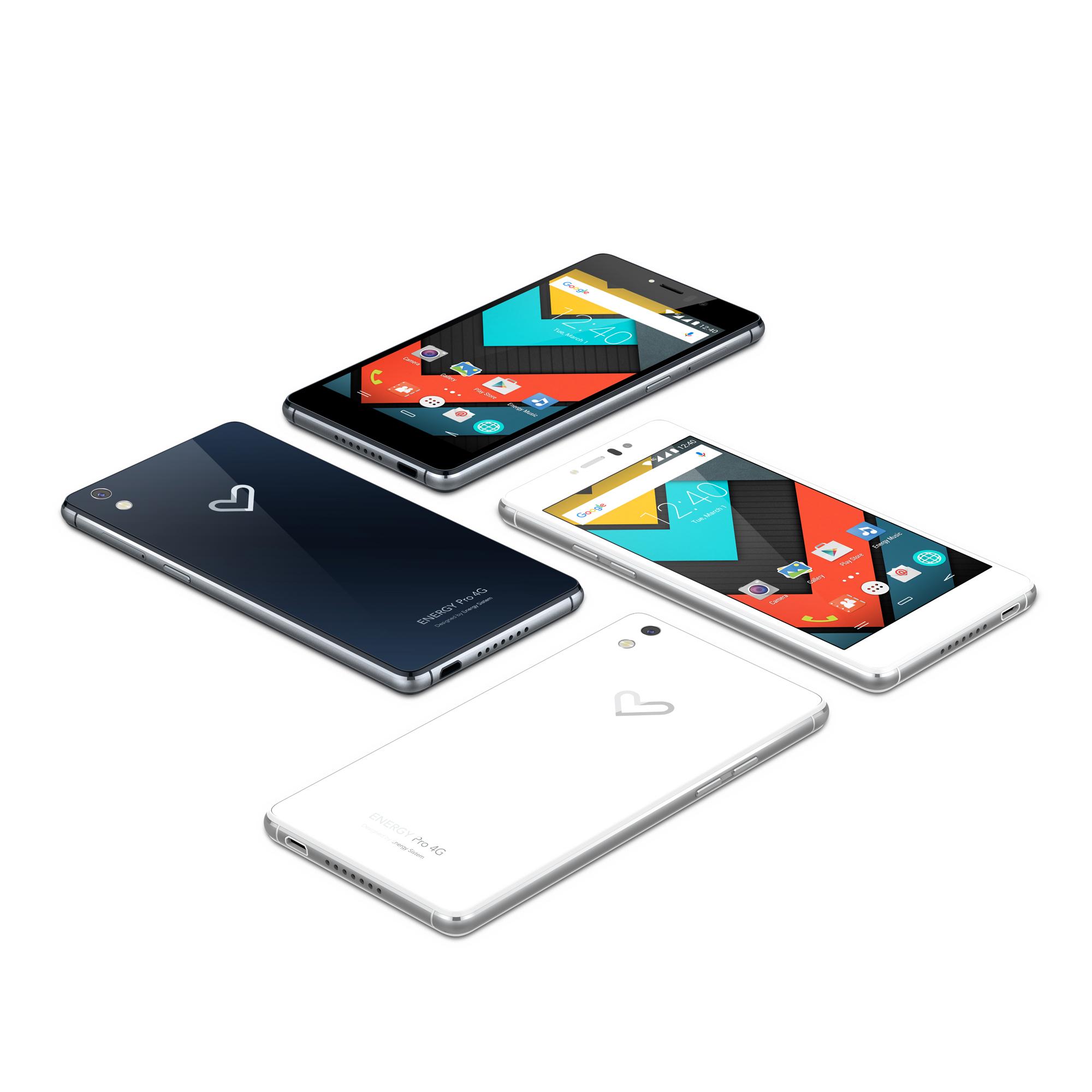 Energy Phone Pro 4G, un bólido con sabor nacional