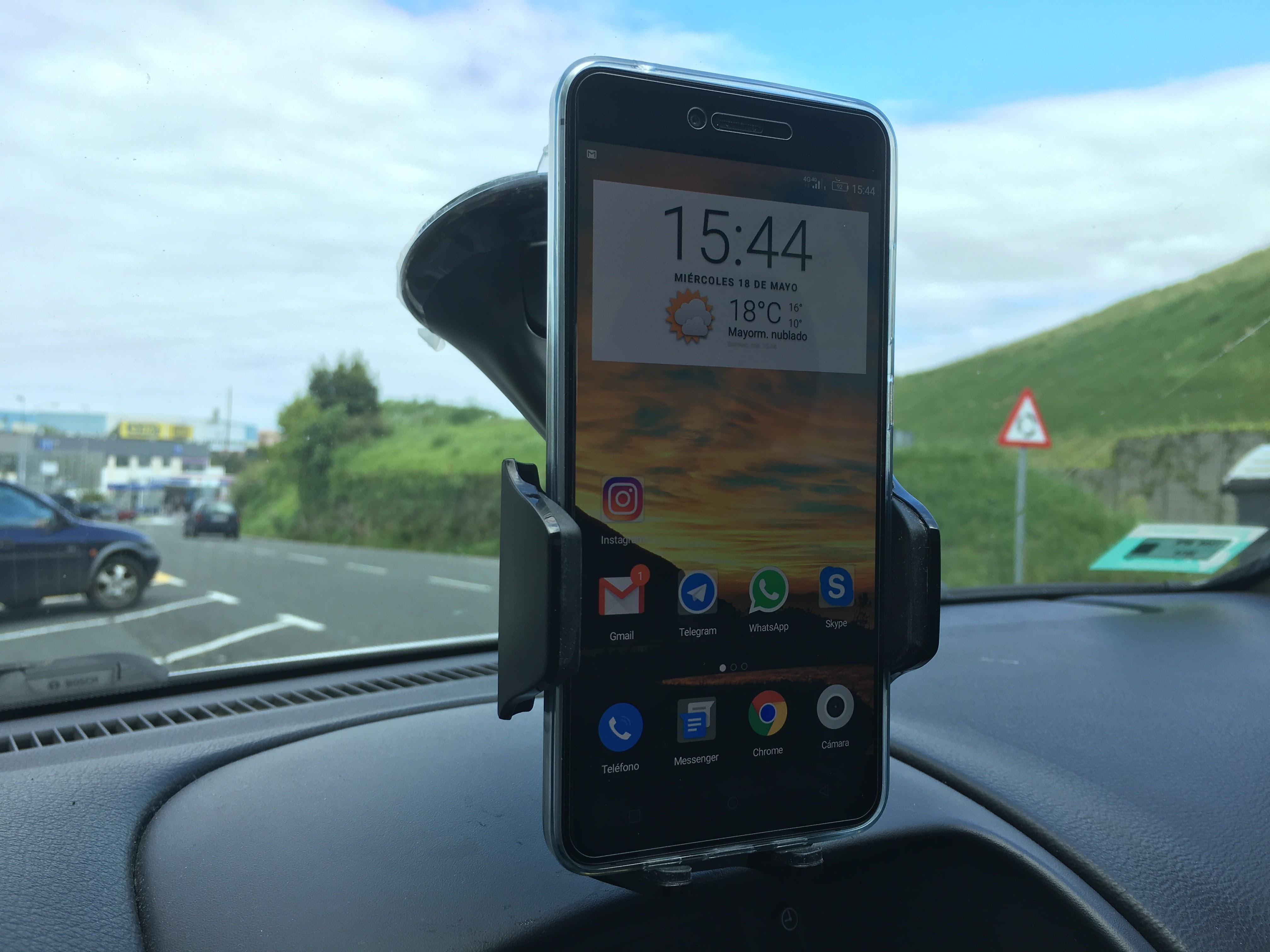 Soporte de coche universal oficial Samsung, la delicia de los soportes
