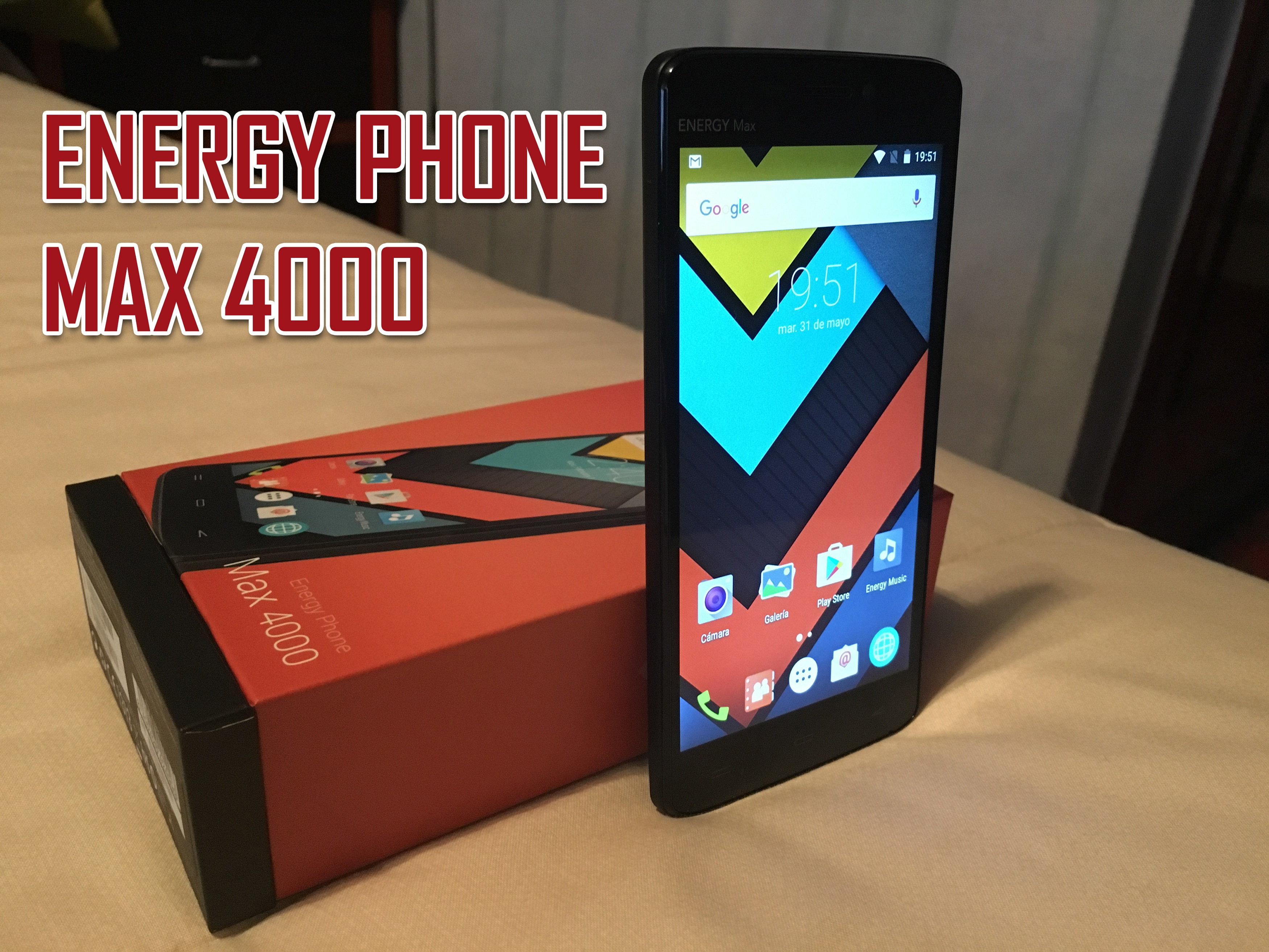 ¿Buscas mucha batería, barato y de aquí? Tu teléfono es Energy Phone Max 4000