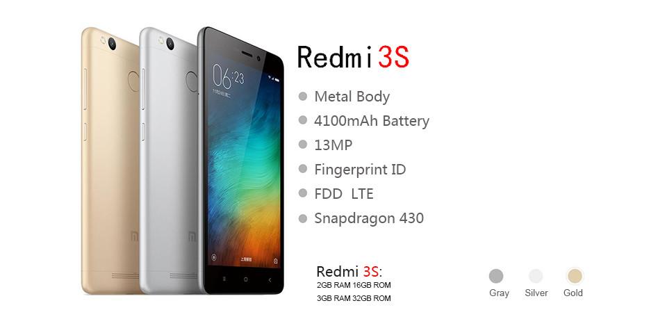 Super low cost, Xiaomi Redmi 3S ya disponible para compra