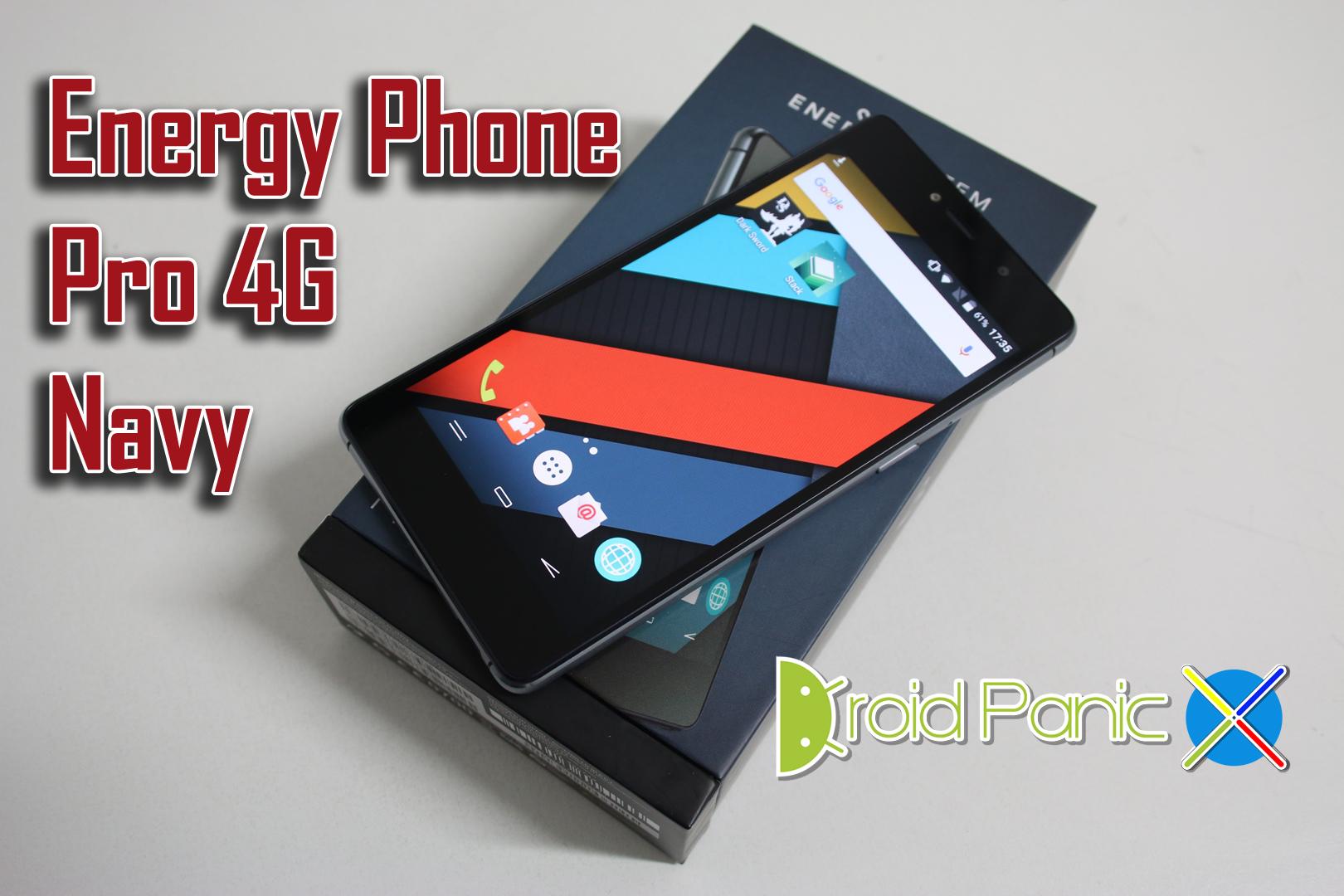 Energy Phone Pro 4G Navy, gran salto de calidad de Energy Sistem