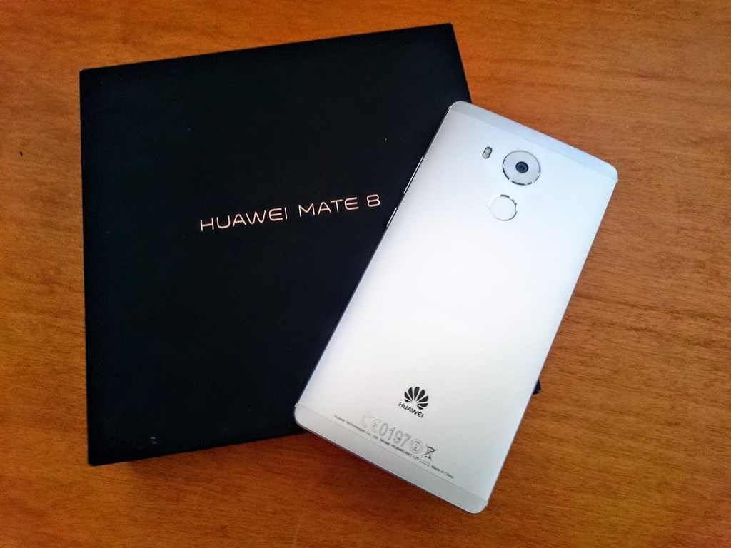Análisis Huawei Mate 8 – Un phablet muy interesante