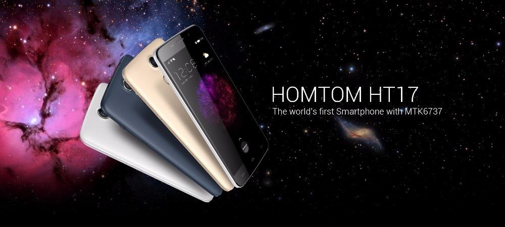 Homtom HT17, el phablet con 4G más barato del mercado
