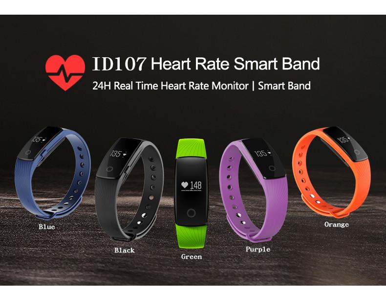 ID107, una smartband buena, bonita y barata