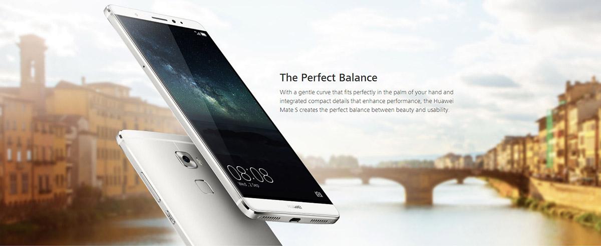 Huawei Mate S a precio de escándalo