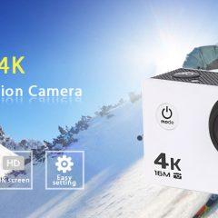 Ofertón Flash de la cámara de acción V3 4K WiFi
