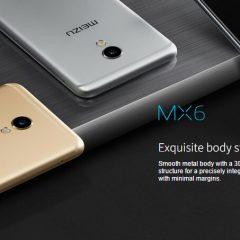 ¡Atentos que Meizu MX6 ya está en stock!