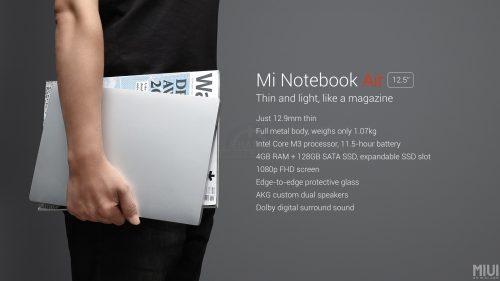 Mi Notebook Air 12.5 11.11