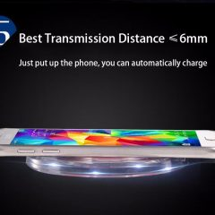 Cargador Inalámbrico Universal para Galaxy S7, Note 7, Elephone P9000…