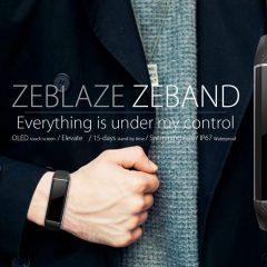 ¡¡¡La pulsera de actividad Zeblaze ZeBand con precio loco!!!