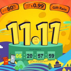 Segundas promociones del 11.11 en Gearbest