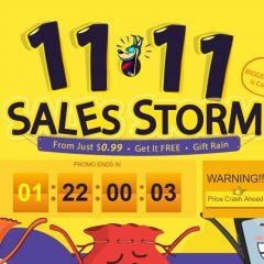 Tormenta de ofertas para el 11.11 en Gearbest