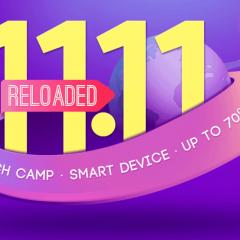 Promoción 11.11 Reloaded en Gearbest ¡Corre!