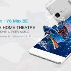 Doogee Y6 Max 3D, ya en preventa el smartphone 3D sin gafas