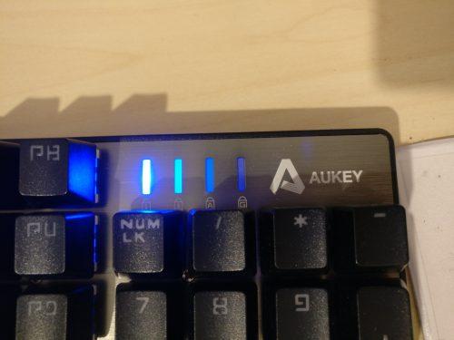 Teclado Gaming mecánico Aukey