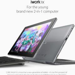 Super promo de la tablet/ultrabook Cube iWork1x 2 en 1