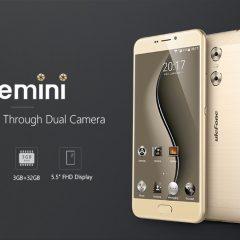 Ulefone Gemini, ¡corre que se acaba la promoción de un teléfono con doble cámara trasera!