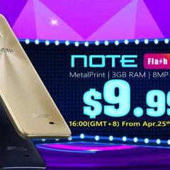 ¡Consigue un Geotel Note por tan solo 9,99 dólares!