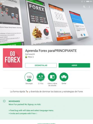 Finanzas forex en espanol