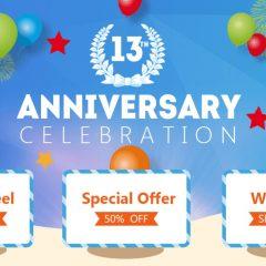 Participa en el 13º aniversario de EaseUS ganando increíbles premios
