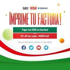 Paga con OXXO en la promoción de Gearbest para México