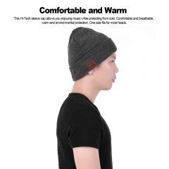 Gorro de lana Bluetooth para calentarnos bailando