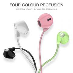 Cascos A3 Flat Ear Headphones para cualquier tipo de dispositivo