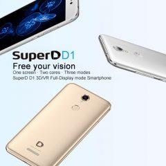 SuperD D1, el teléfono dirigido al VR y 3D