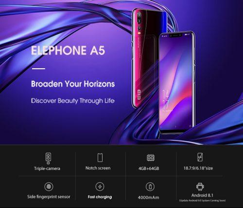 Elephone A5