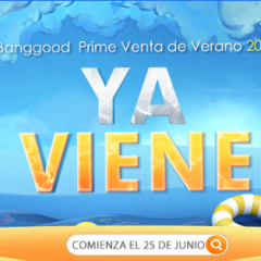 Banggood Summer Prime Sale 2019, chollazos en la red